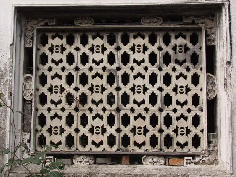 慈溪古建筑石窗艺术赏析