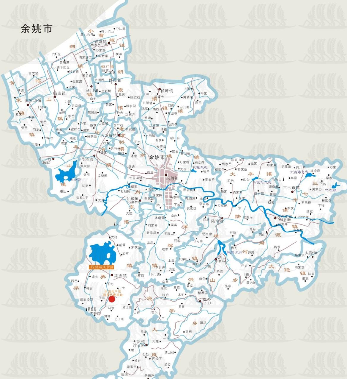 宁波南站到慈溪地图